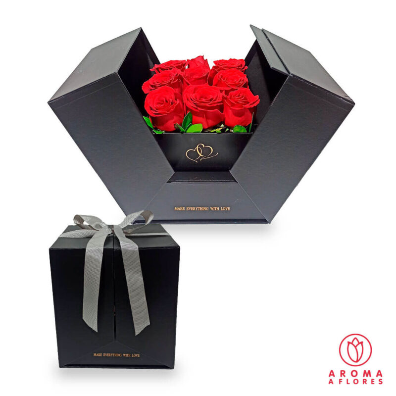 box-9-rosas-sorpresa-aromaaflores