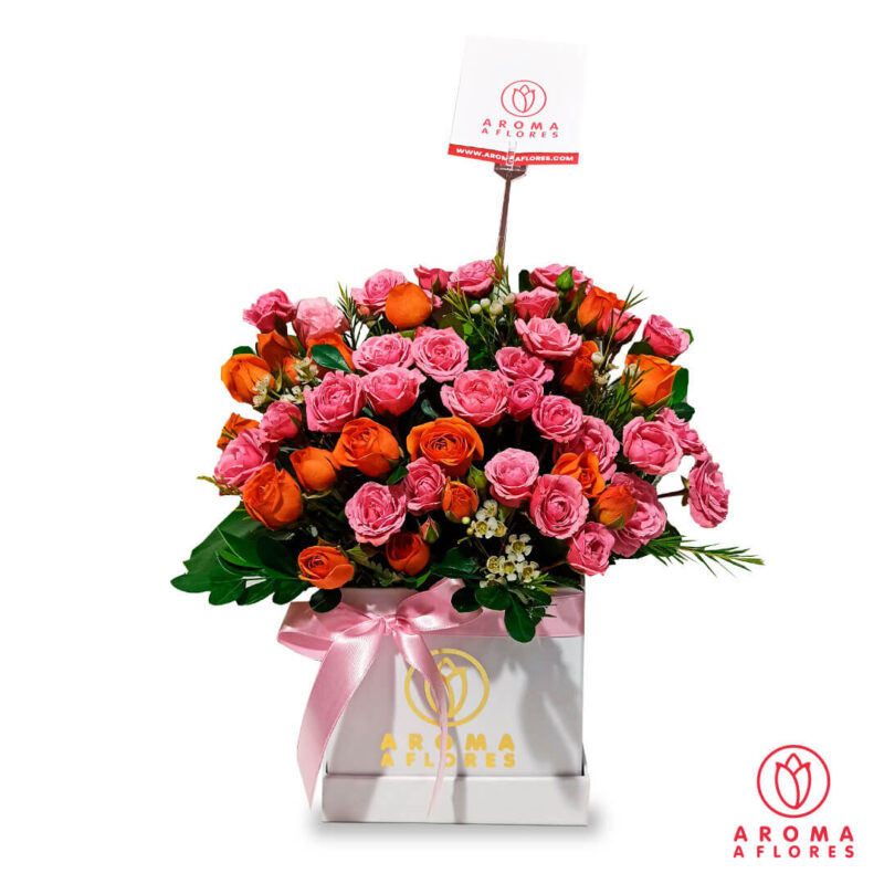 box-mini rosas aromaaflores