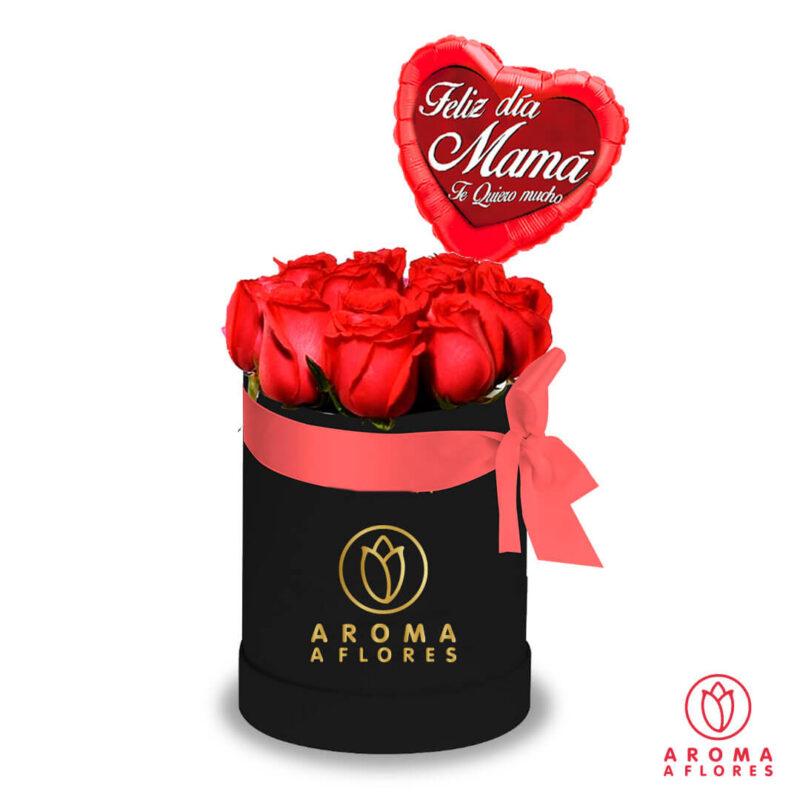 box-12-rosas-black-aomaaflores