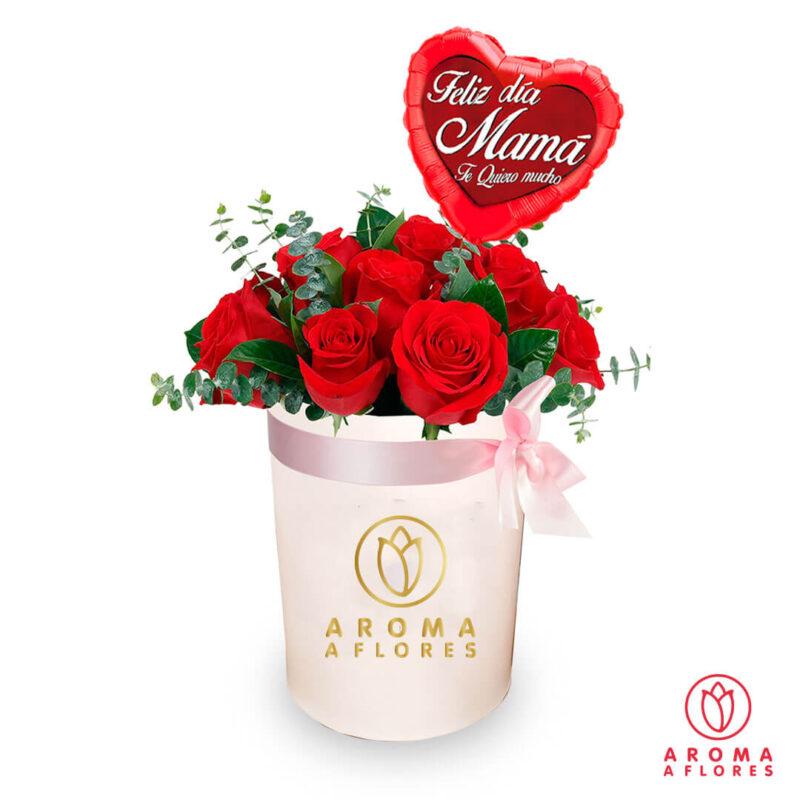 box-12-rosas-silver-aromaaflores