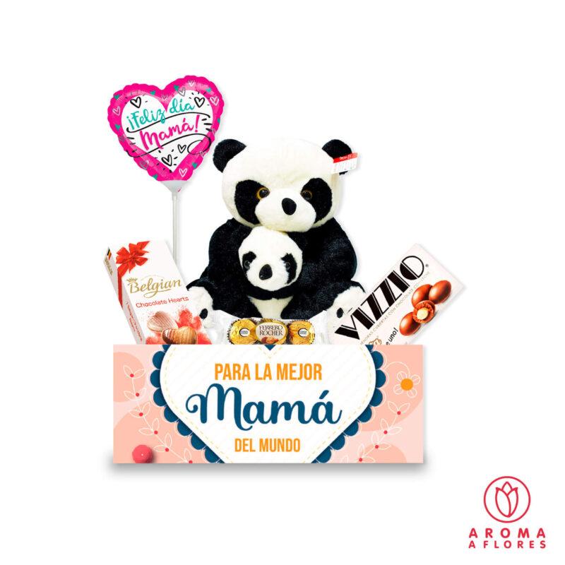 Pack-panda-con-bebe-aromaaflores